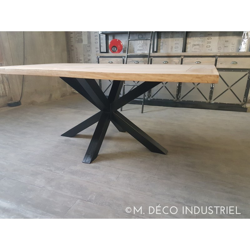 pied table industriel 15 pieds de table m tal industrielle paisseur 2 x 2. Black Bedroom Furniture Sets. Home Design Ideas