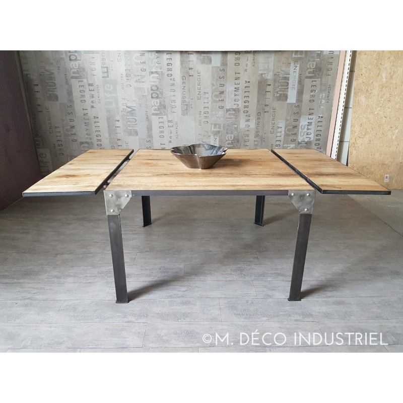 Pied de table style industriel maison design for Table salle manger style industriel